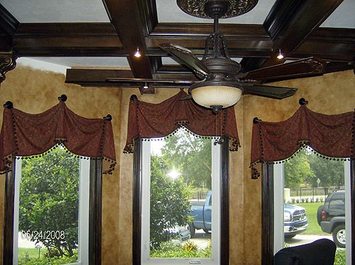 Fountain Hills custom valances