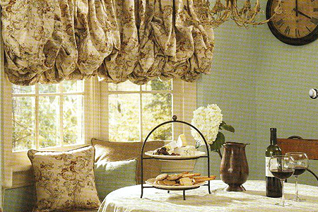 Fountain Hills Decorated Fabric Shades Window Treatments